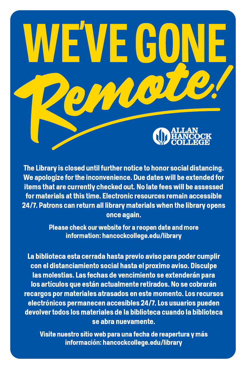 Library goes remote