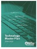 Technology Master Plan cover