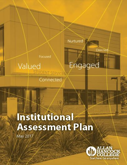 Institutional Assessment Plan cover